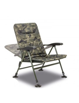 SOLAR TACKLE UNDERCOVER CAMO RECLINER CHAIR