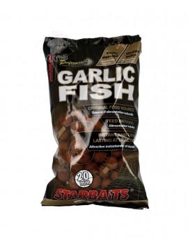 STARBAITS BOILIES GARLIC FISH 20MM 1KG